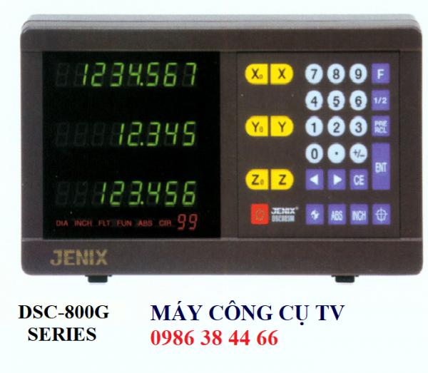 MÀN HÌNH THƯỚC QUANG JENIX CHO MÁY MÀI DSC-800G SERIES