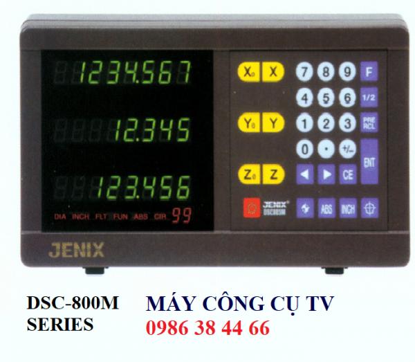 MÀN HÌNH THƯỚC QUANG JENIX CHO MÁY PHAY DSC-800M SERIES