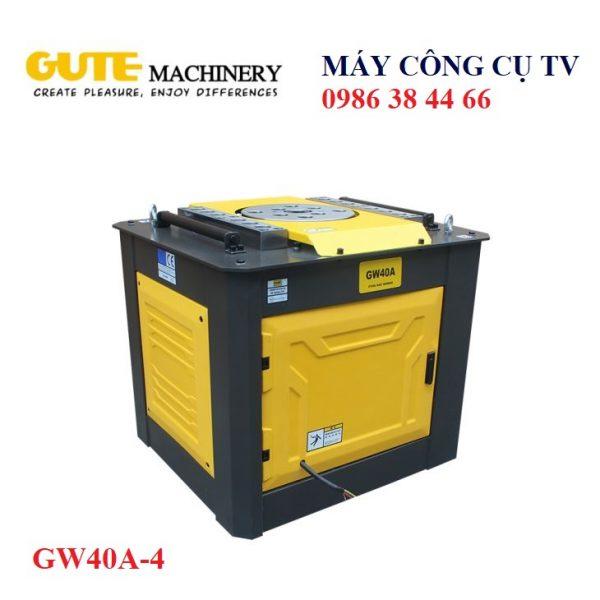 MÁY UỐN THÉP XÂY DỰNG GW40A-4 GUTE MACHINERY